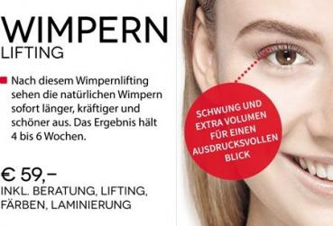 Wimpern-Lifting